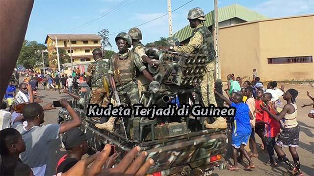 Kudeta Terjadi di Guinea