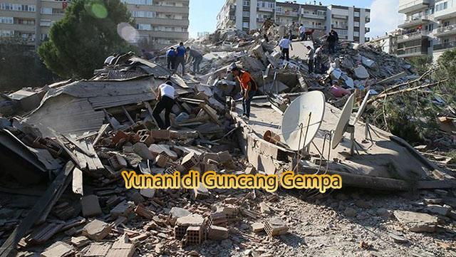 Yunani di Guncang Gempa